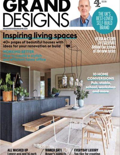 Alusplash splashbacks featured on Grand Designs magazine