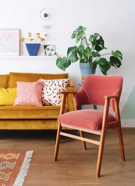 Using your personailty in interior design - Adding a Touch of Colour to Your Life