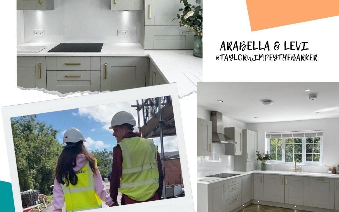 Arabella and Levi's Kitchen Transformation Journey