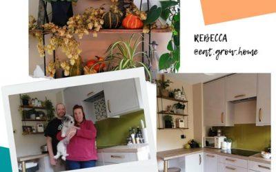 Rebecca & Sam's Gorgeous Kitchen Transformation