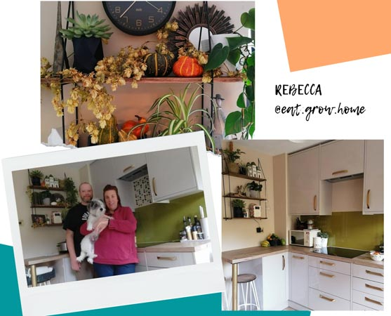 Rebecca & Sam's Gorgeous Kitchen Transformation