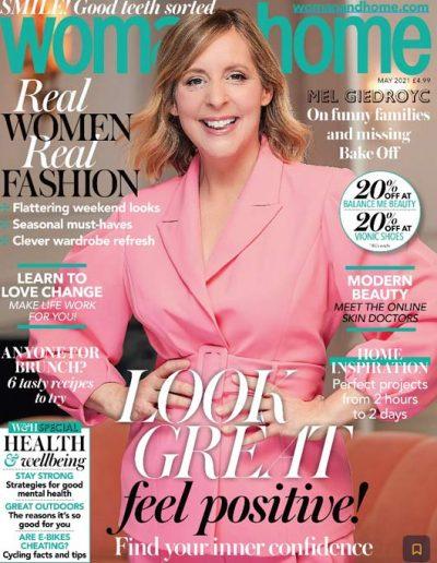 Alusplash kitchen backsplash featured on Woman & Home magazine